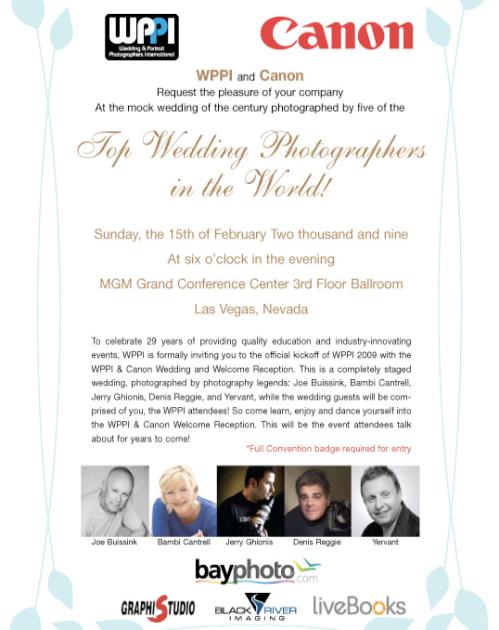 Vegas Welcome for WPPI