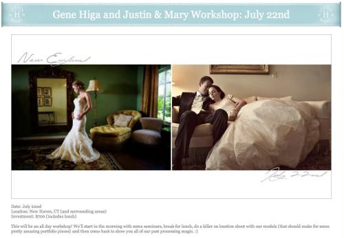 Gene Higa and Justin & Mary Workshop
